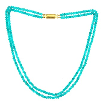 Turquoise onyx necklaces