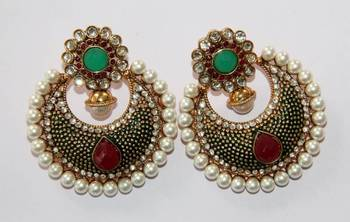 BEAUTIFUL ROUND CHAND BALI HANGINGS