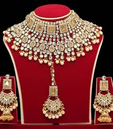 Gold Necklace Sets With Earrings
