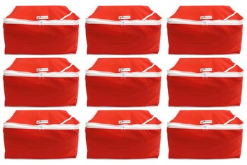 Red not specified pouches