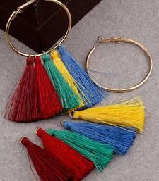 Teens Interchangeable Gold Plated Hoop Earrings