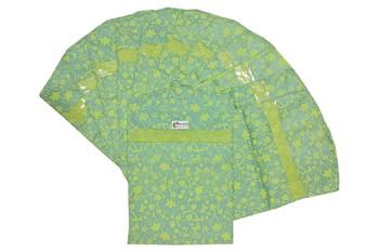 Shree Shyam Products Printed Non Woven Hanging Single Saree Cover, 12 Pcs Set