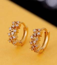Cluster Setting Gems Earrings