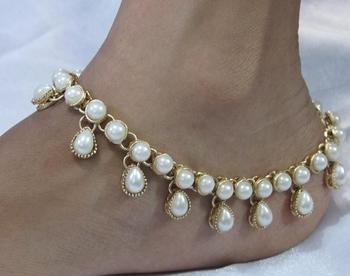White anklets
