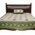 Beige Sanganeri Cotton Printed Double Bed Size Bedsheet