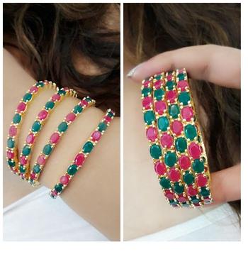 Multicolor bangles