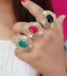 Multicolor rings Free Size