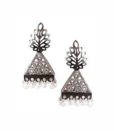Nacre Silver Earrings
