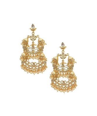 Pearl & Jhumki Ethnic Earrings