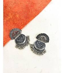 Silver Multi Patter Earrings