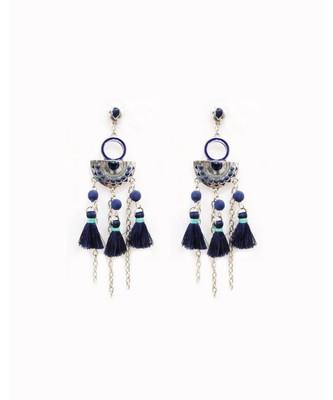 Laniya Blue Boho Earrings