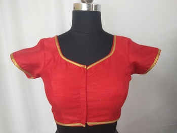 Red Readymade Blouse