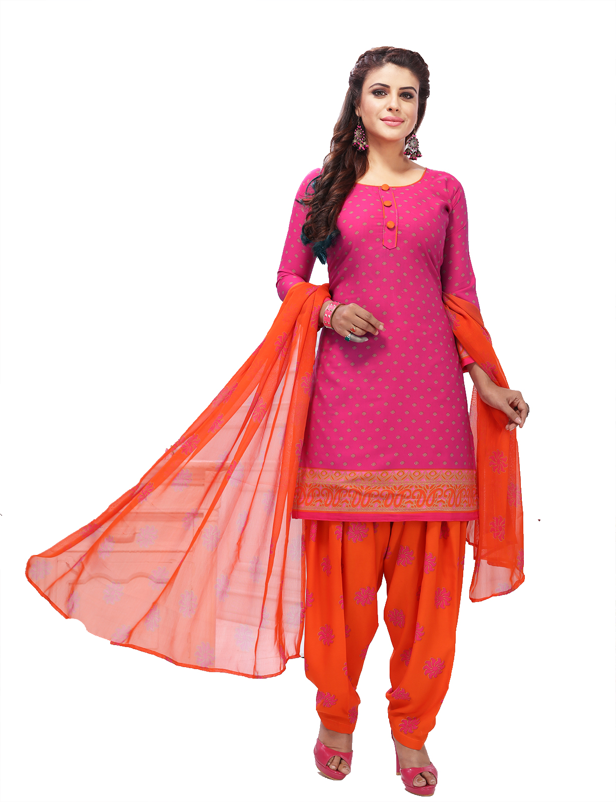 8fc3e261f2 Pink Suits Online | Buy Pink Color Salwar Kameez from Best Designers in  India