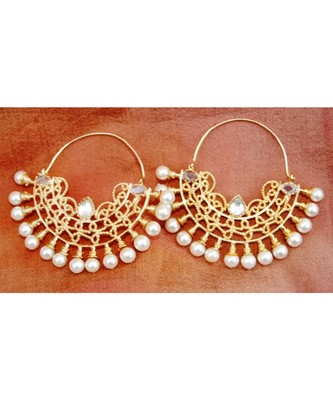Chand Bali Hoop Earrings