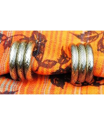 Bali Gold Stud Earrings