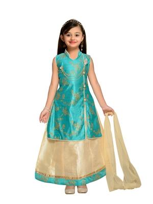 Kidling Kids Party Wear Lehenga Choli Set  For Girls