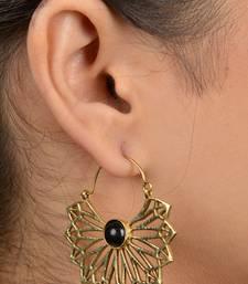 Tribal Flower Petal Earrings