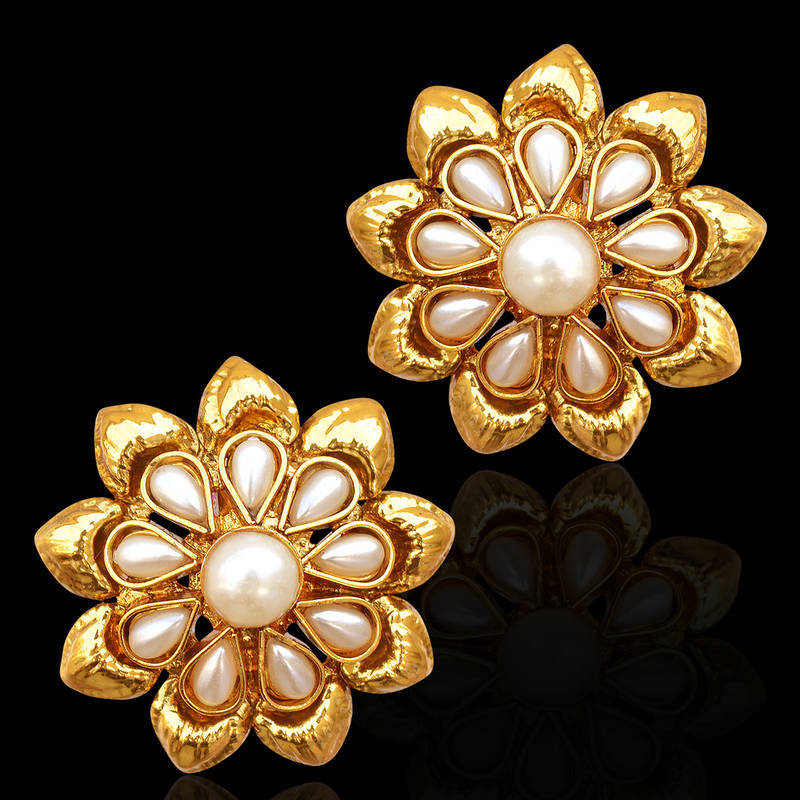 Buy Traditional South Indian Bollywood Jewelry Gold Finish