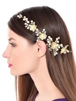 Gold women hair clip