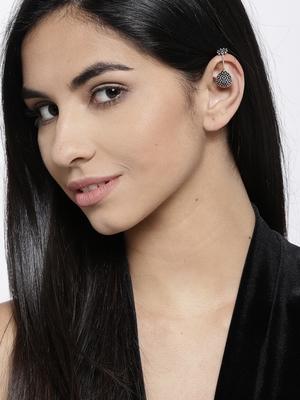 Silver ear-cuffs