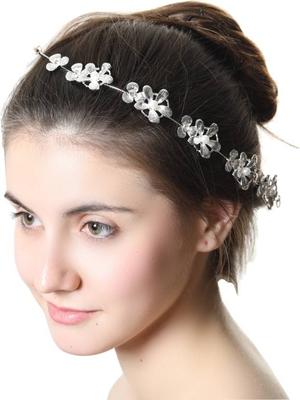 Silver women hair clip