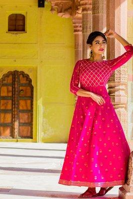 Rohdamine Pink Gotta Dress