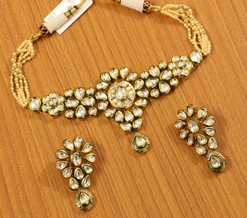 White Necklace Sets
