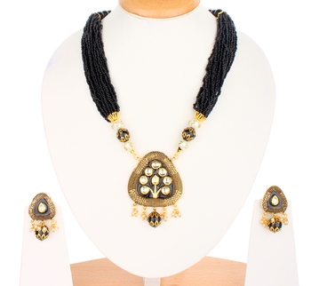 Sabina Black Onyx Necklace Sets