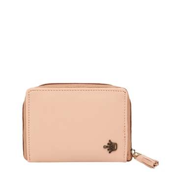 Peach Compact Wallet