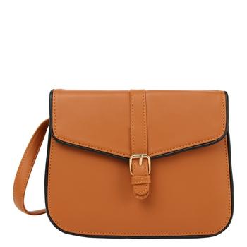 Piping Tan Sling bag