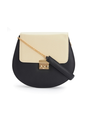 Black and Cream Sling bag