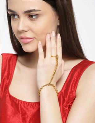 Gold women hathphul