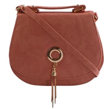 Women Casual Peeche leatherette Sling Bag