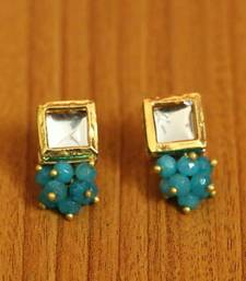 Turquoise turquoise studs