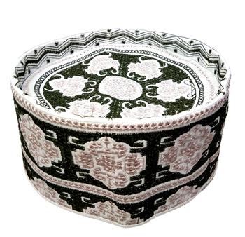Hand woven Islamic Barkati crown cap