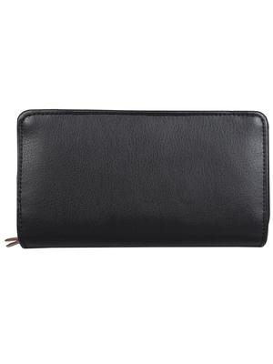Anekaant Classic Black Leatherette Wallet