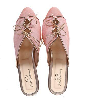 PINK colorblocked party women footwear