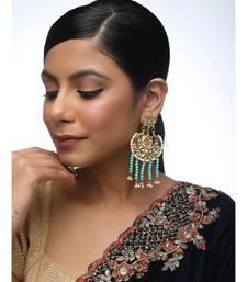 multicolor Kundan Earrings
