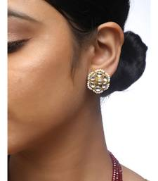 ff8f0d35a6c Stud Earrings - Buy Indian Stud Earrings Online   Best Prices