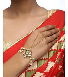 Blue Kundan Bracelet