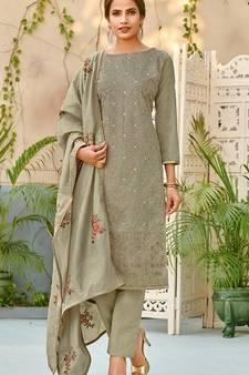 447cd43fbc Chanderi Salwar Kameez Online | Buy Latest Chanderi Suits Neck ...