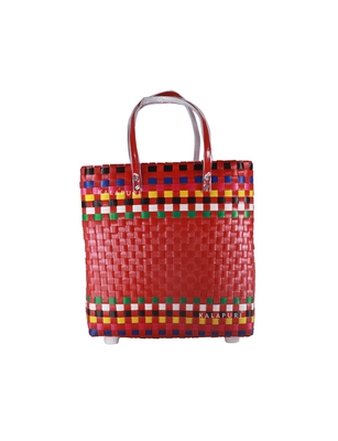 KALAPURI Shopping/Travelling Baskets Authentic Hand Crafted Large Basket Bag