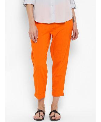 Orange Cigratte Pants