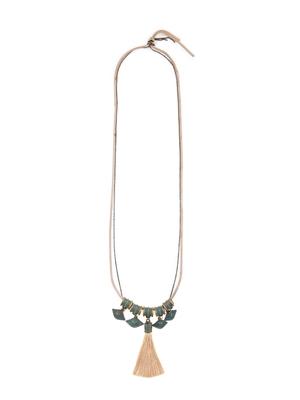 Beige necklaces
