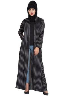bb5c3bab49dd black plain crepe abaya · Shop Now