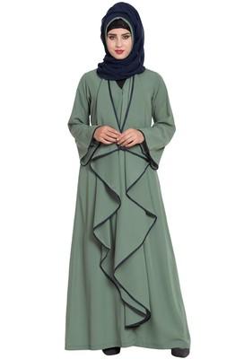 green plain nida abaya