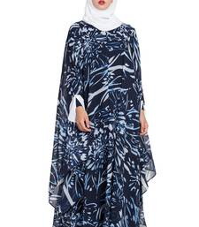 blue plain nida abaya