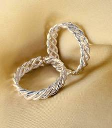 Elegant Silver Spiral Wire Toe-rings