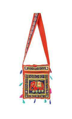 Rajasthani Embroiedery Jhola Bag