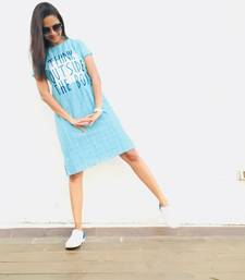 Quircky embroidered blue dress
